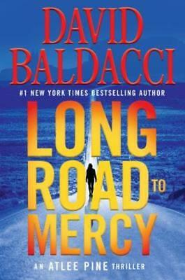 Long Road to Mercy by David Baldacci (2018, Hardcover)   FIRST EDITION