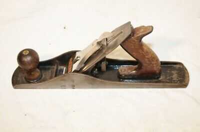 Vintage Stanley Bailey No 5 Plane Smooth Bottom Type 19 14""