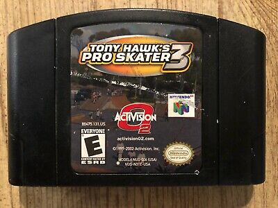 Tony Hawk's Pro Skater 3 - N64 ( Nintendo 64 ) Game Only , *AUTHENTIC* !