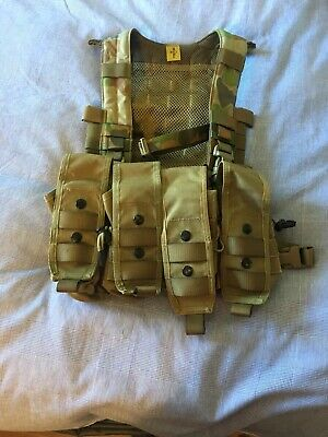 Platatac Exo Light Weight Chicom Chest Rig FUP pouch X4 Y Harness Plus Straps