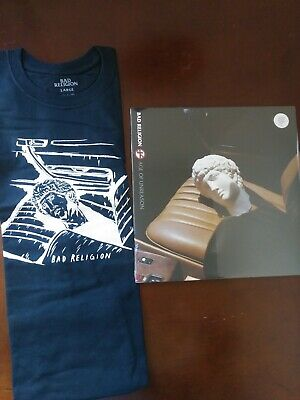 Bad Religion Age Of Unreason Mango Colored Vinyl + Free T-Shirt Brand New SEALED