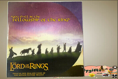"NZ. 2003 ""The Lord of the Rings"" 9 Coins of 50 Cents Uncirculated"