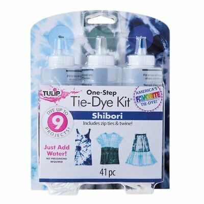 Tulip One Step 3 Colour Dye kit Good Vibrations Purple, Red and Fuchsia Tie-Dye