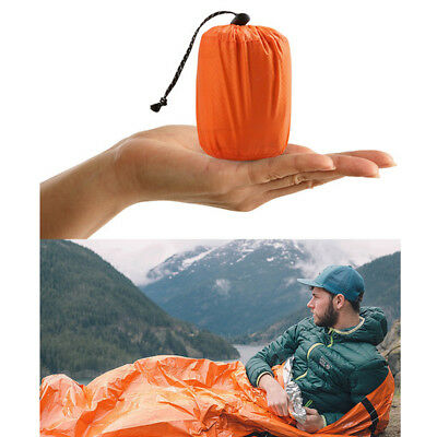 1Pack Reusable Emergency Sleeping Bag Thermal Waterproof Survival Camping Bags