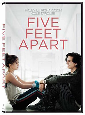 Five Feet Apart Dvd - Single Disc Edition - New Unopened - Cole Sprouse