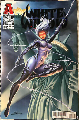 Absolute Comics Group WHITE WIDOW #2 VARIANT COVER ACE CONTINUADO