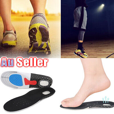 Fasciitis Relief Correcting Pads Arch Support Flat Foot Plantar Orthotic Insoles