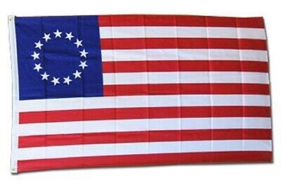 BETSY ROSS HISTORICAL FLAG 3 x 5 FOOT FLAG - NEW HIGHER QUALITY ULTRA KNIT 3x5'