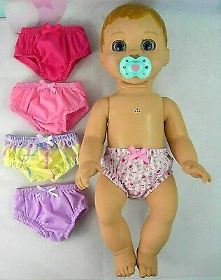ACCESSORIES FOR LUVABELLA DOLL ~ 5 x UNDIES~KNICKERS~ (J)~PINK~LILAC~LEMON