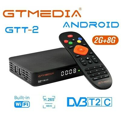 GTMedia V8 Pro2 Satellite Receiver DVB-S2 Full HD H.265 Receptor Built-in Wifi