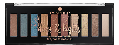 "ESSENCE LE ""summer days & nights""  eyeshadow palette (10 shades)  NEU&OVP"