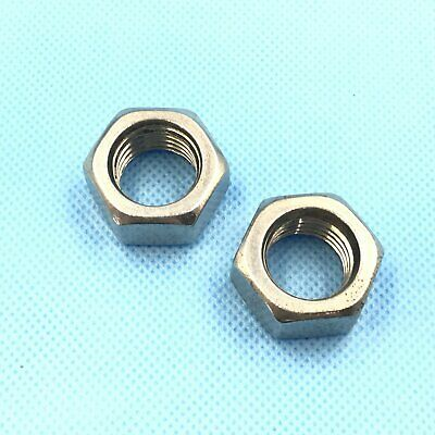 12Pcs Stainless Steel M10 x 1.5 Hex Nut Right Hand Thread [DORL_A]