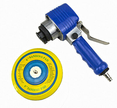 "Air Sander 6"" 150mm 1/4"" Air Compressor Sanding Pad Polishing Tool Dual Action"