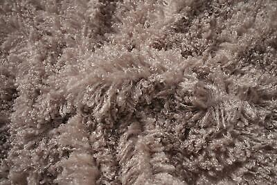 Super Luxury Faux Fur Fabric Material - MONGOLIAN SILVER