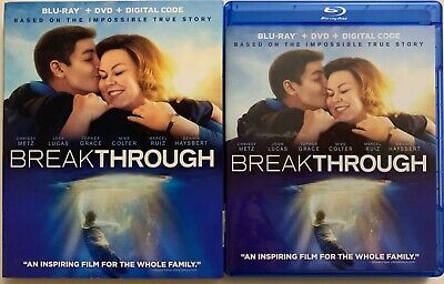 Breakthrough Blu Ray Dvd 2 Disc Set + Slipcover Sleeve Impossible True Story