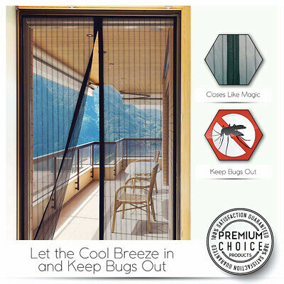MAGIC Magnetic Insect Door Mesh Net Screen for Bug Mosquito Fly Insect Curtain X