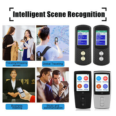 Portable WIFI + SIM Smart Voice Real Time Translator 43 Languages Travel