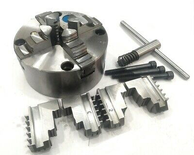 125 mm 4 jaws Self Centering Chuck with Reversible set of jaws-Lathe Milling