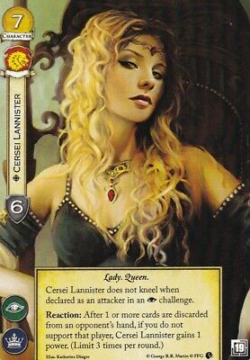 A Game Of Thrones - 2nd Edition LCG - Alt Art Promo - Cersei Lannister