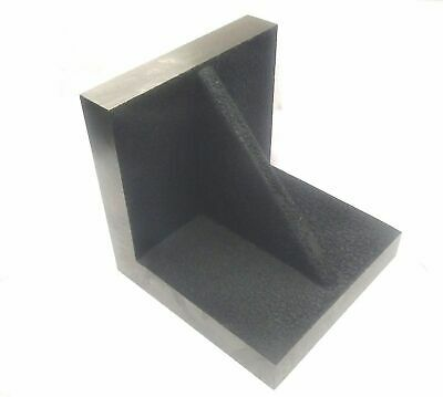 """Brand New Solid Webbed Caste Iron Angle Plate 3"""" x 3"""" x 3"""" Inches-Precise Ground"""