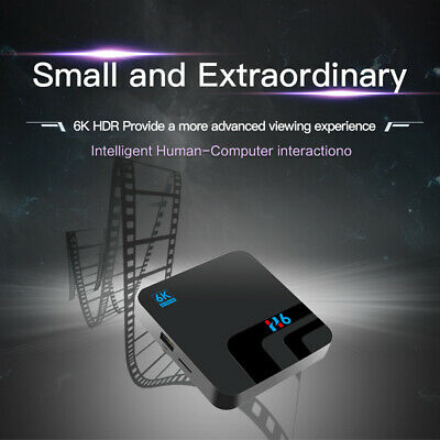 TV BOX SMART Android 9.0 2019 6K MXQ Pro WiFi HDMI Quad Core 3D Media Player New