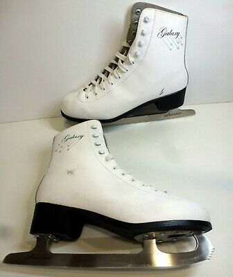 SFR Galaxy Ice/ Figure Skating Boots - Size 9 - White