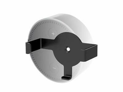 Monoprice Fixed Wall Mount for Echo Dot Black Heavy Duty Small Compact