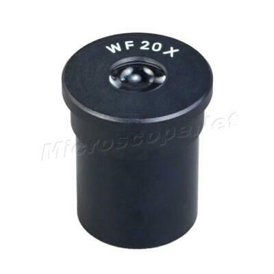 Wide Field WF20X Optical Glass Microscope Eyepiece with 23.2mm Dimension