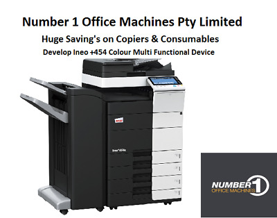 Develop Ineo +454 Colour Copy, Network Print/Scan, Fax, email, Duplex,USB Print