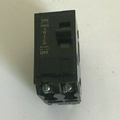 QO1-100M SQUARE-D 100a ISOLATOR QOE PLUG IN TYPE 1 PHASE MAIN SWITCH (SQD70)