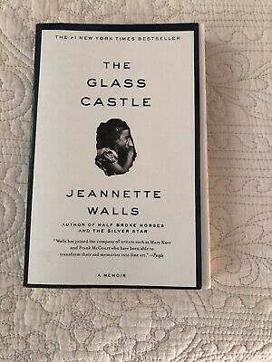 The Glass Castle: A Memoir by Jeannette Walls paperback book FREE USA SHIPPING