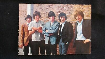 Circa 1970's The Rolling Stones Post Card Photo By Michael Lyons Printed In Ger