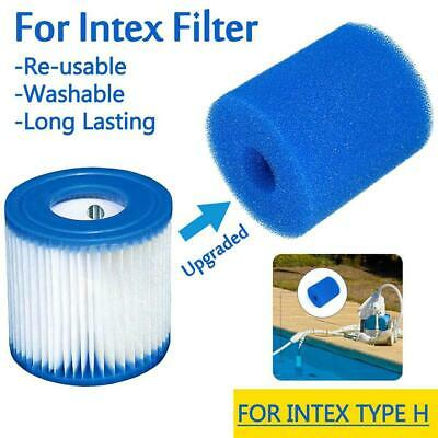 3 sizes pool filter cleaning equipment foam reusable washable sponge cartridge