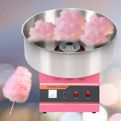 1300W Electric Commercial Cotton Candy Floss Maker Machine Party Kitchen