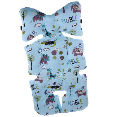 Baby Feeding Chair Cushion Stroller Mat Car Seat Pad Buggy Pushchair Blue