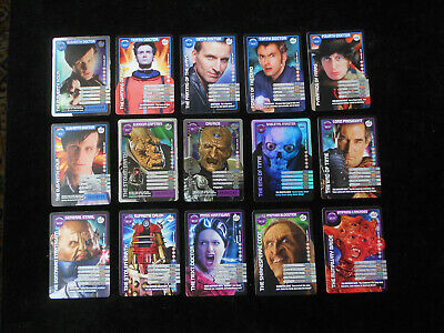 Doctor Who Monster Invasion 154 Diff Cards Inc Super/Ultra Rares Mainly Ex