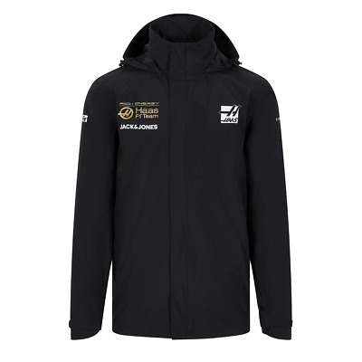 Rich Energy Haas F1 Men's Team Rain Jacket - 2019 - clearance