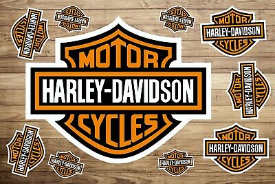 Harley Davidson Stickers Decals Vinyl Car Van Bike Motorbike  Helmet Laptop