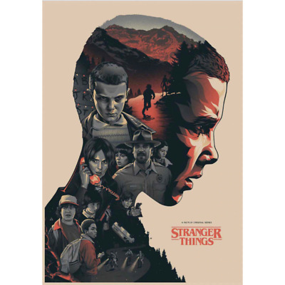Stranger Things Poster New Rolled Poster
