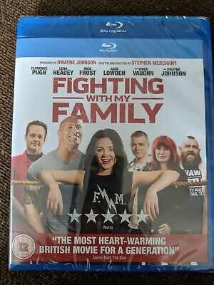 Fighting With My Family. Blu ray. Brand new. Still in plastic wrapping