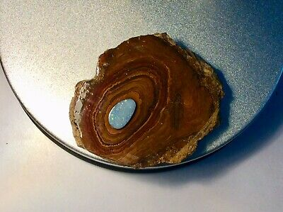 Yowah Opal Formation Base Stone Plus Centre Opal Lapidary Display