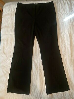Womens The Limited Dress Pants 16 Tall Long Black Boot Cut Stretch NWOT