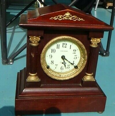 Antique c1908 Seth Thomas Berkley city series w/89C 8-day movement mantle clock