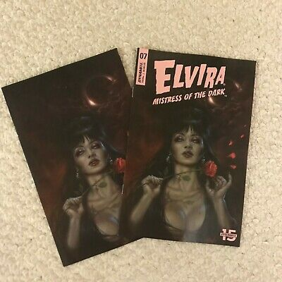 Dynamite/ELVIRA MISTRESS OF DARK #7 1:25 Parillo Virgin Variant w/Regular Cover
