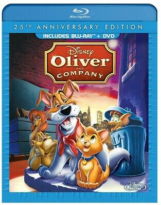 Oliver and Company: 25th Anniversary Edition [Blu-ray + DVD] (Bilingual) *NEW*