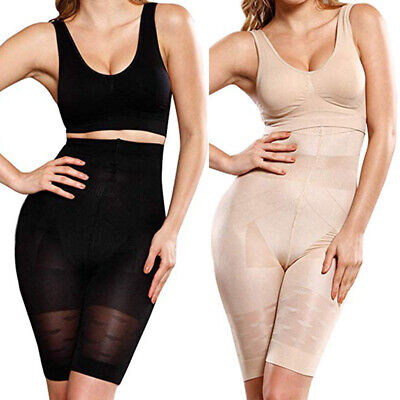 Women Tummy Control Shapewear Seamless Slim Fit Shaper Shorts High Waist Pants