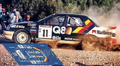 Calcas Ford Sierra RS Cosworth Rally Cataluña 1991 catalunya decals Bardolet
