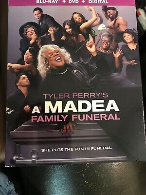 Blu-Ray Plus DVD Plus Digital New Release Movie A Madea Family Funeral