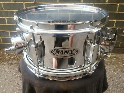 """Mapex 10"""" x 5.5"""" Steel Shell Snare Drum"""