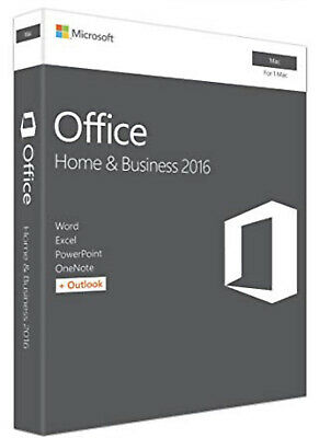 ⚡️🔑 Microsoft Office Home and Business 2016 |Mac | 100% Genuine | Lifetime ⚡️🔑